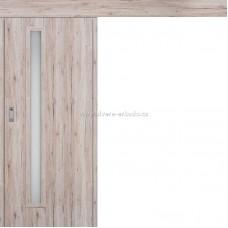 Posuvné dveře na stěnu EKO